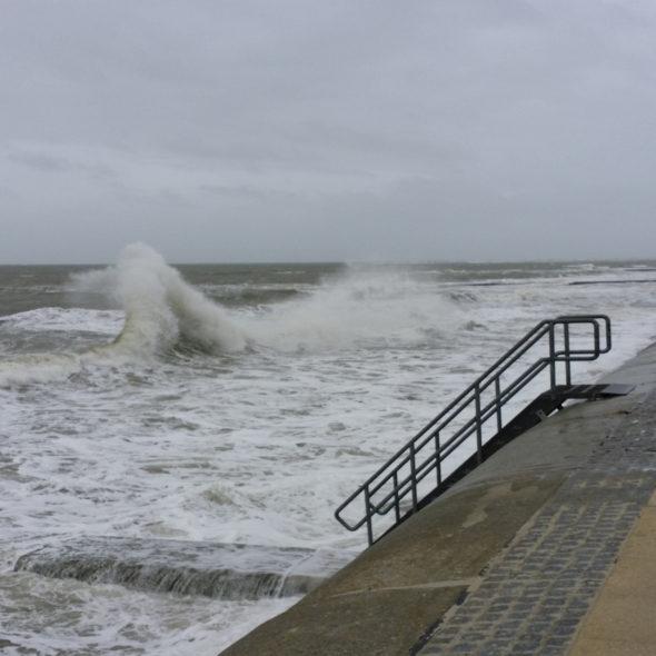 Der Sturm auf Borkum
