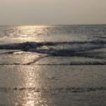 Am Strand auf Borkum