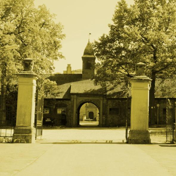 Blick aufs Schloss Dellwig