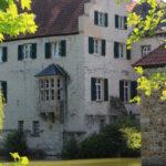 Seitenansicht des Haupthauses