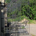 Schmiedeeisernes Gittertor