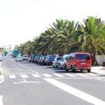 Straße von Costa de Teguise